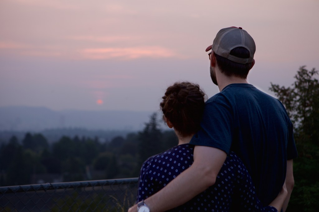 Sunset at Mt. Tabor, Portland | theringers.co