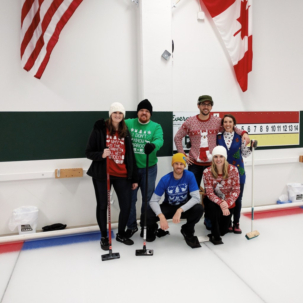 Curling lesson crew | theringers.co