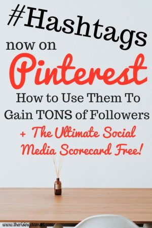 Hashtags Now On Pinterest! The Rising Damsel #hashtags #pinterest #followers #blog #wah
