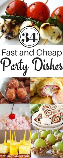 34 Easy and Cheap Meals to Impress at any Party. The Rising Damsel