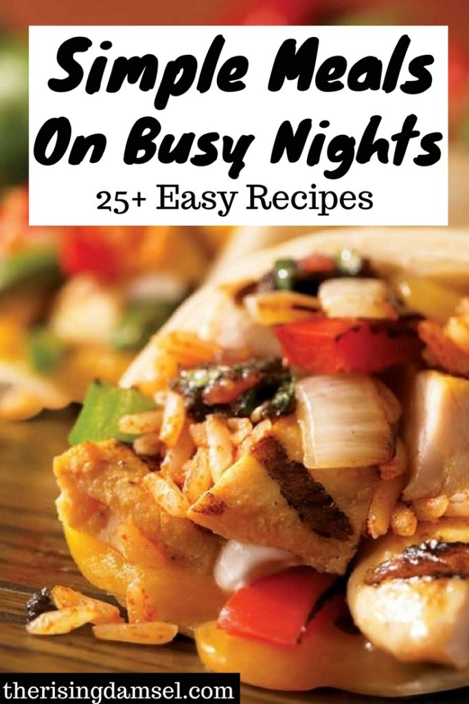 Easy Meal Prep Recipe Ideas For Busy Work Nights