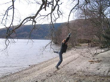claire swinging