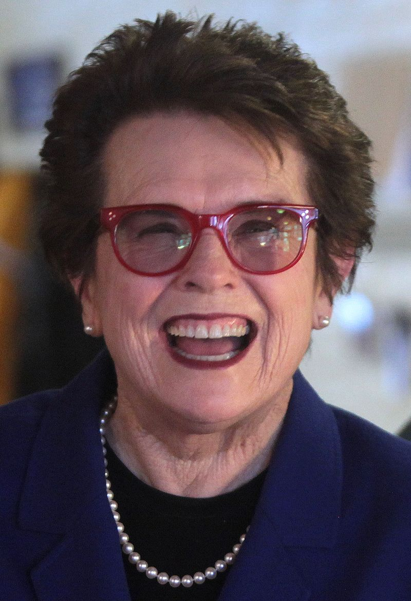 The River of Pride Billie Jean King