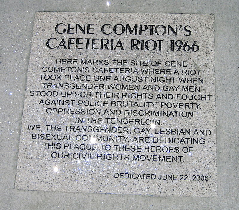 The River of Pride Compton's Cafeteria riot