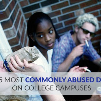 Most Commonly Abused Drugs On College Campuses