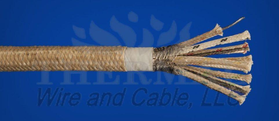 538°C (1000°F) 600V Multi-Conductor Instrumentation / Control Cable