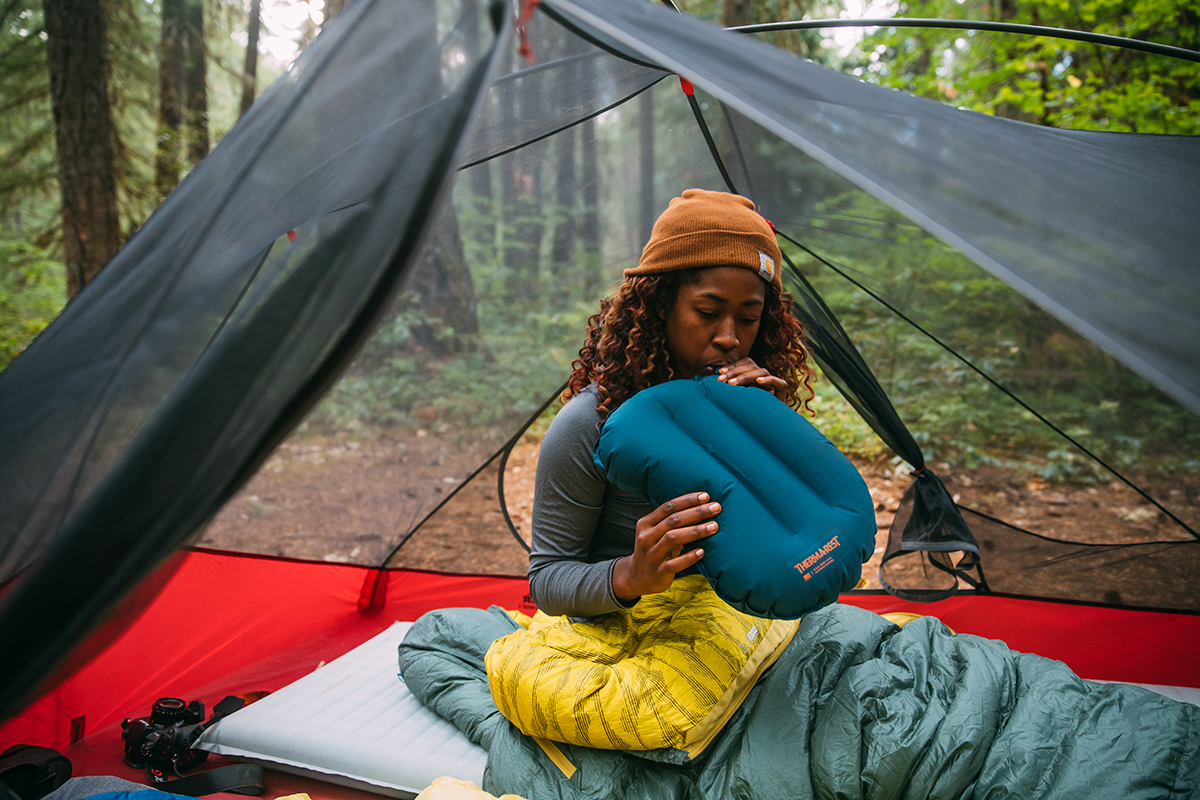 camping pillows therm a rest s