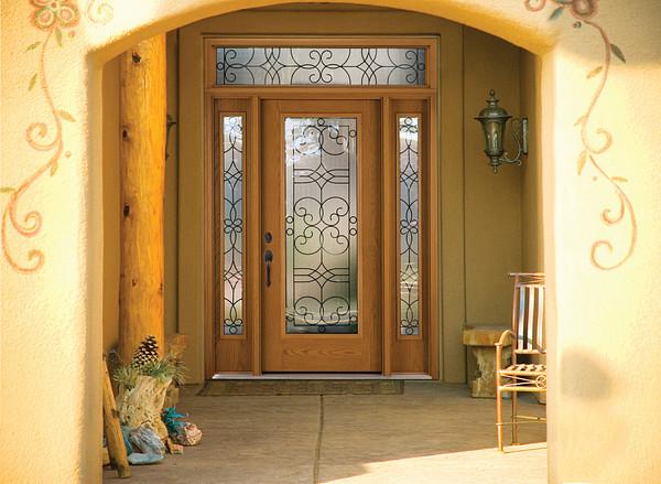 Salinas 174 Decorative Amp Specialty Glass Therma Tru Doors
