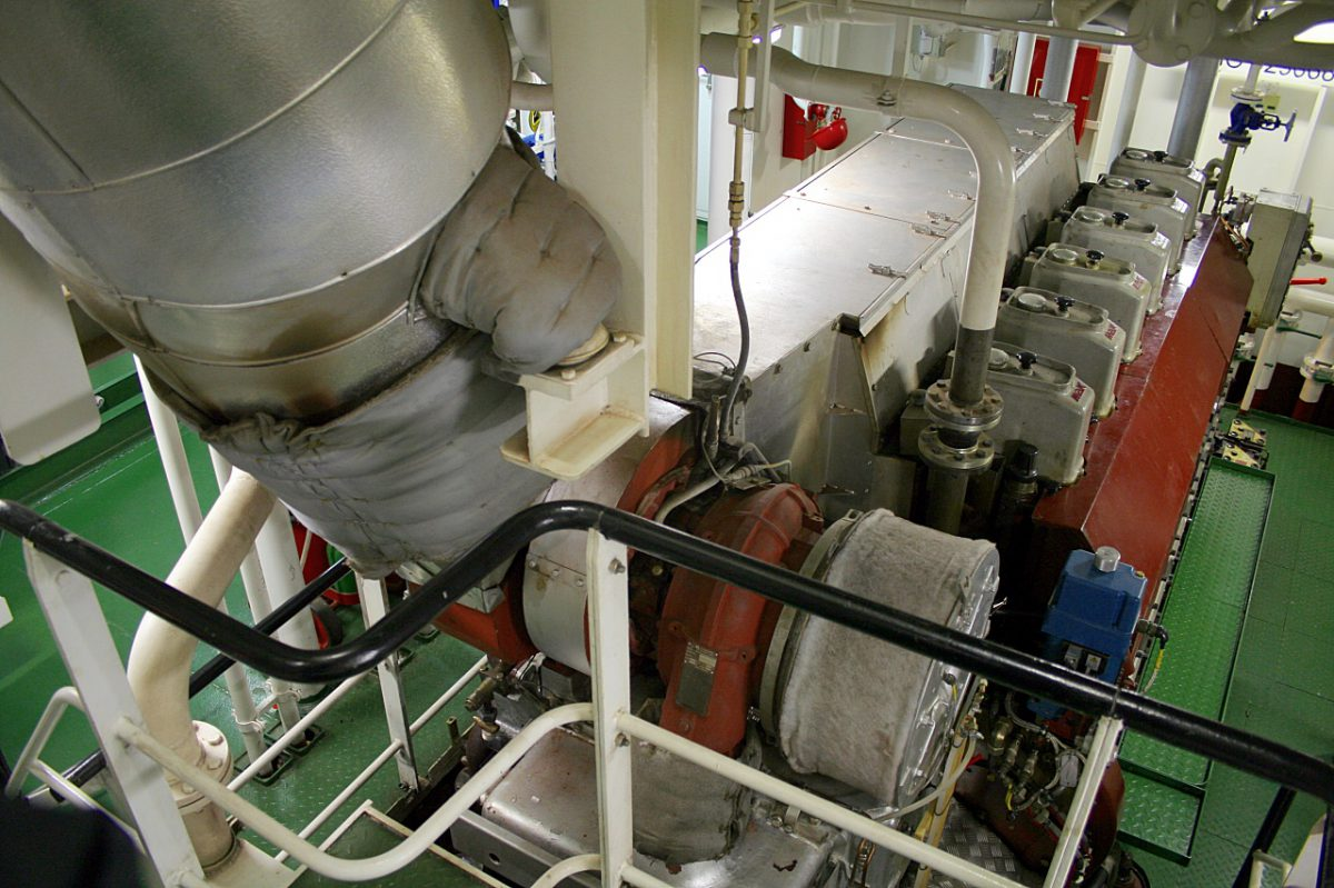 marine engine room insulation blankets
