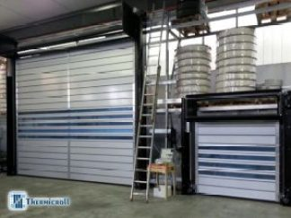 Pruebas eléctricas para cierres industriales thermicroll