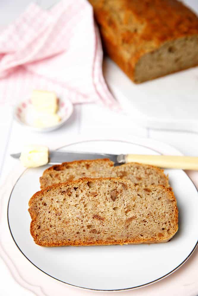Sugar Free Fig and Banana bread Recipe