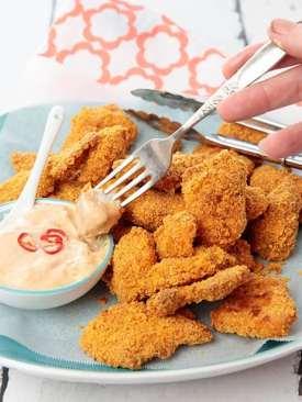 Corn Chip Chicken Nuggets