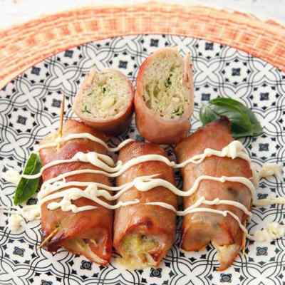 Low Carb Chicken Rolls