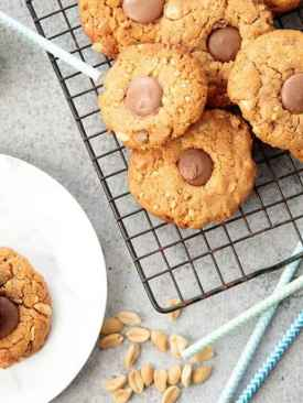 Thermomix Choc Chip Peanut Butter Cookie