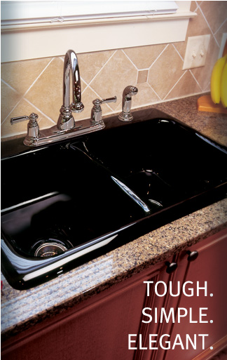 granite composite and cast acrylic sinks