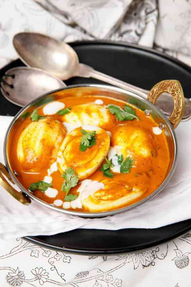 Indian Vegetarian Egg Curry
