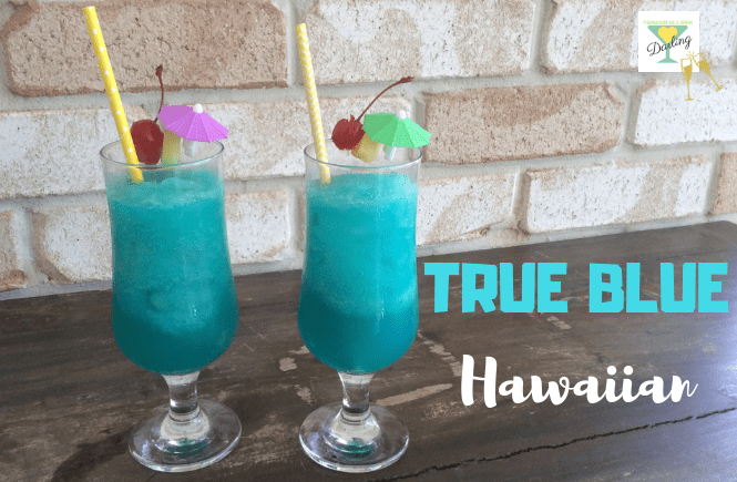 True Blue Hawaiian Thermomix Me A Drink Darling