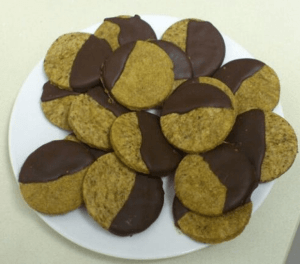 Galletas de cafe y chocolate caseras