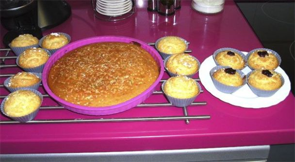 Magdalenas hechas con Thermomix