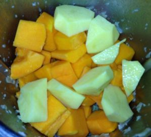 Crema de calabaza ingredientes thermomix