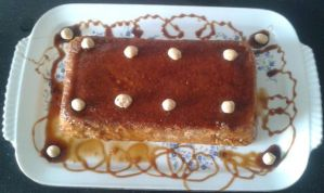 pudding integral de naranja con Thermomix