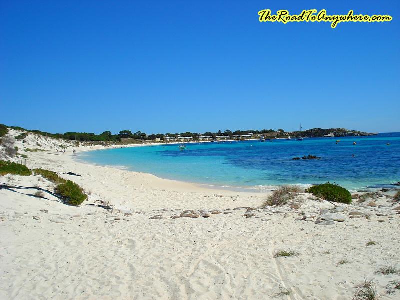 A beach on Rottnest Island, Western Australia