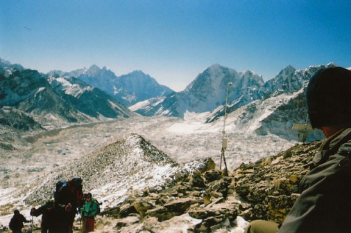 View from Kala Pattar, Nepal