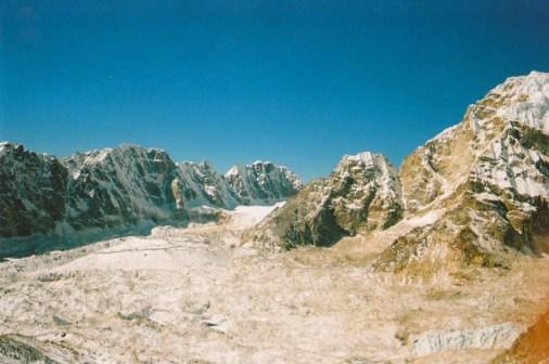 View of Khumbu Glacier, Nepal