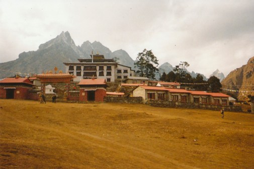 The monastery at Tengboche, Nepal