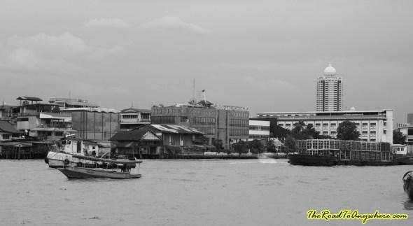 The Chao Praya River in Bangkok, Thailand
