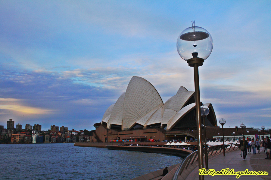 The Sydney Opera House in Sydney, Australia
