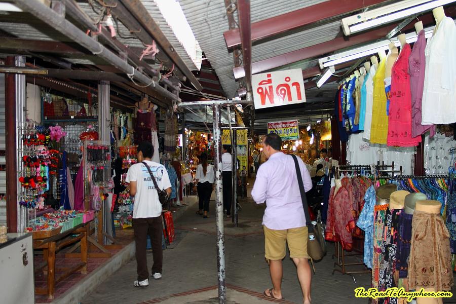 Market in Ayutthaya, Thailand
