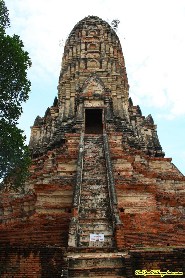 Central prang Wat Chaiwatthanaram in Ayutthaya, Thailand