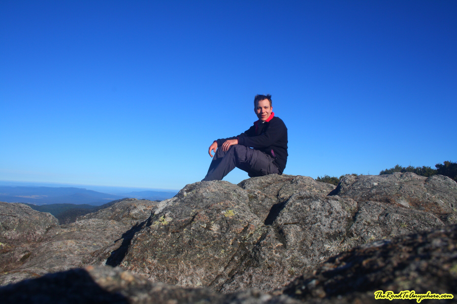 Me on the summit of Mount Barney, Australia