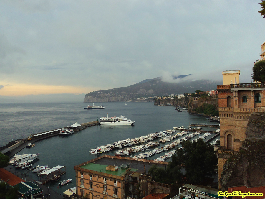 Harbour in Sorrento, Italy