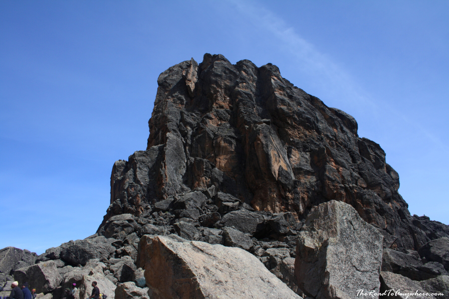 Lava Tower on Mount Kilimanjaro, Tanzania