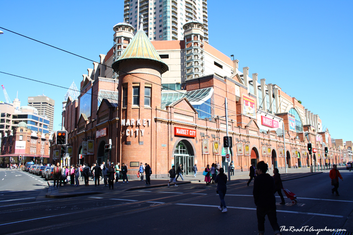 Paddy's Market in Sydney, Australia