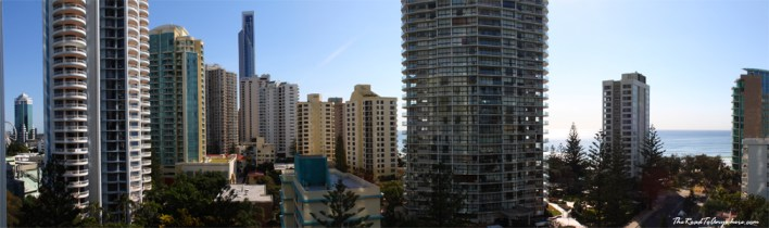 View of Surfer's Paradise from Q1 Building