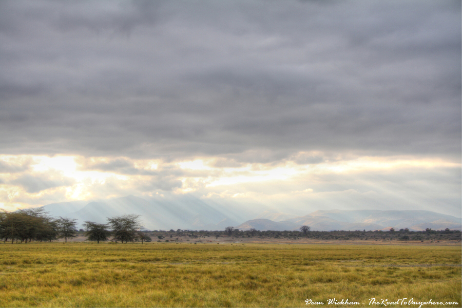 A grassy plain in the Manyara region of the Rift Valley, Tanzania
