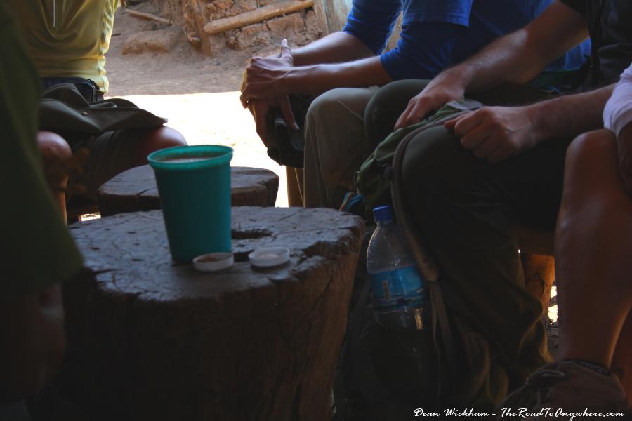 Banana beer in Mto wa Mbu, Tanzania