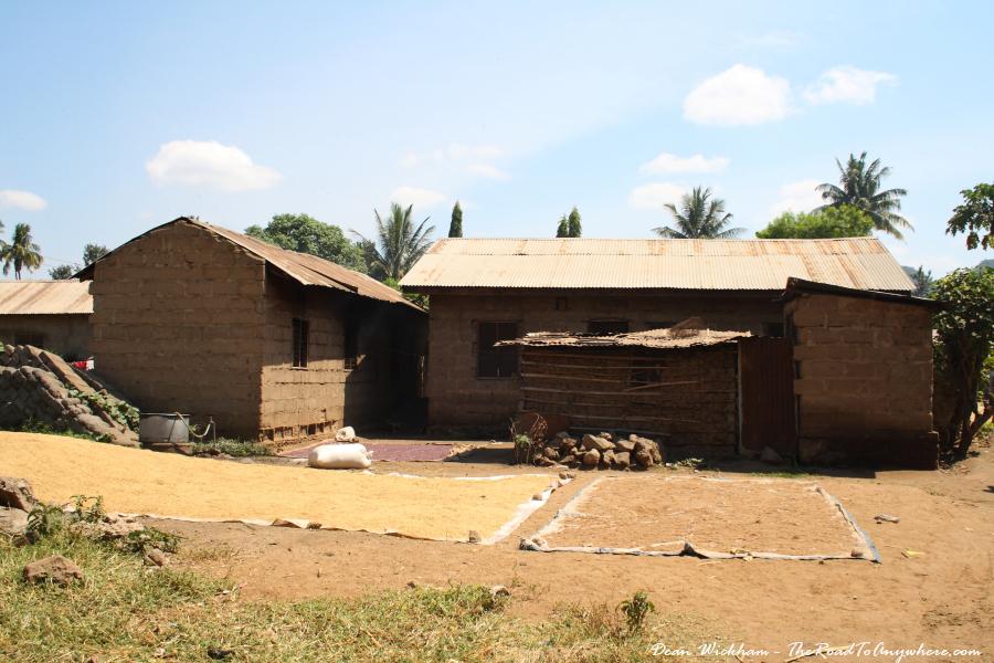 Houses in Mto wa Mbu, Tanzania