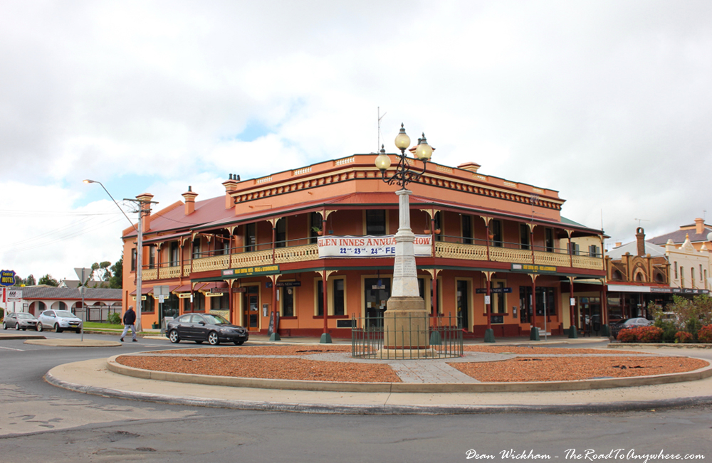 Old hotel in Glen Innes, Australia