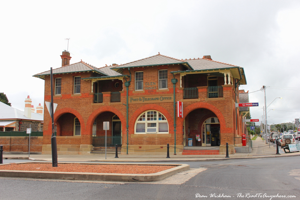 The old post office in Glen Innes, Australia