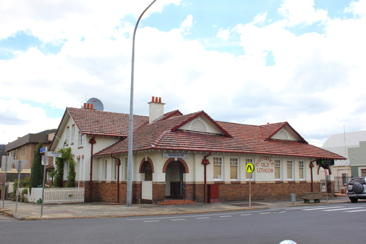 Old Lithgow Post Office in Lithgow, Australia