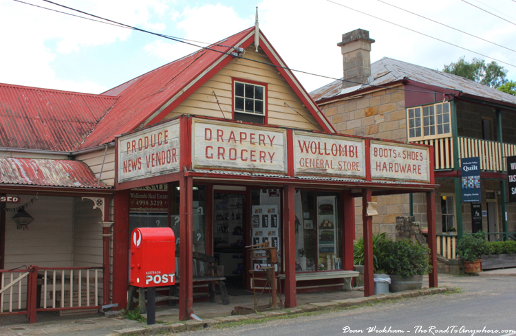 General store in Wollombi