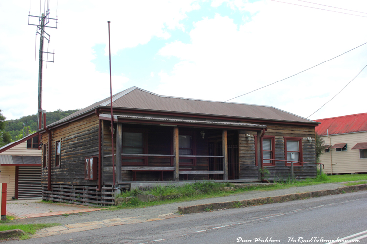Old police station in Wollombi