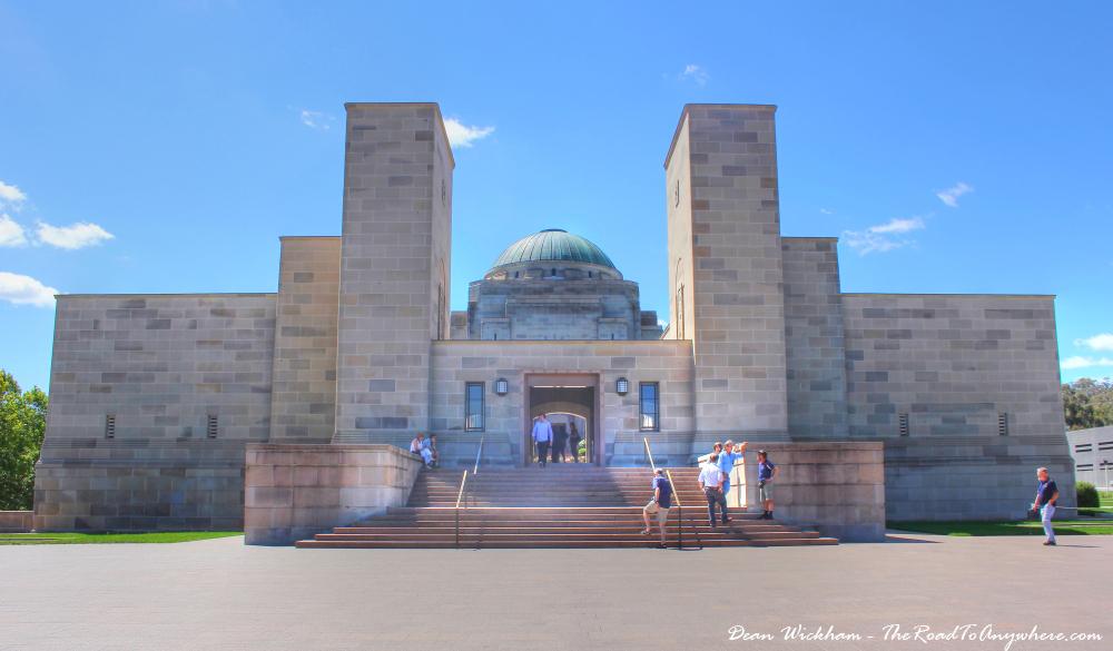 Front of the Australian War Memorial, Canberra