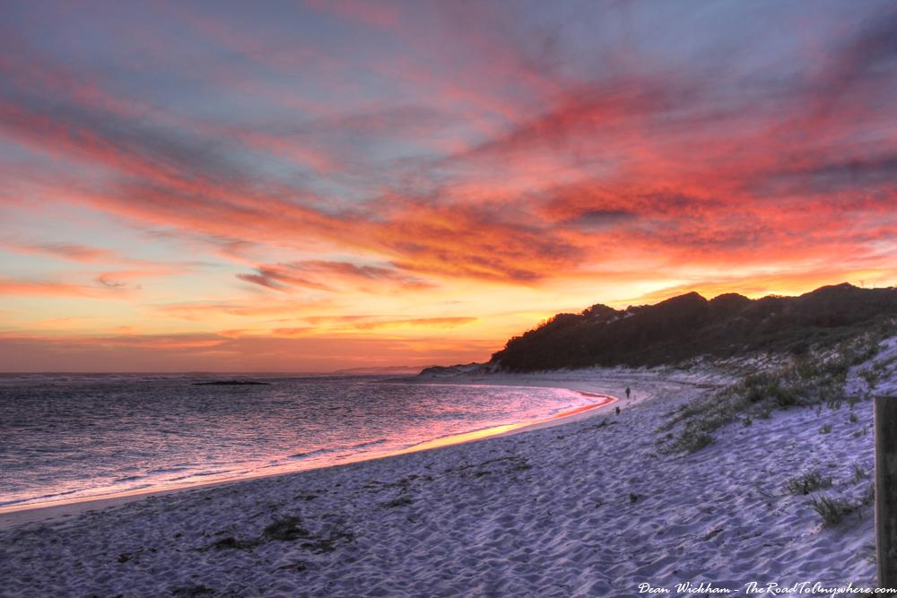 Sunset at Munglinup Beach, Western Australia
