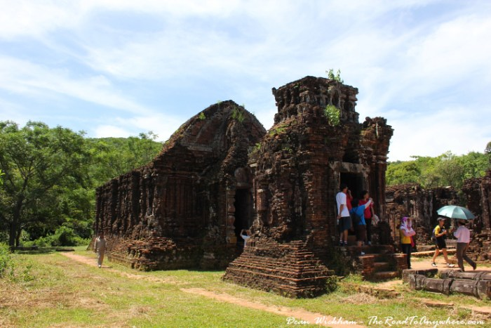 Ruins of a temple at My Son, Vietnam