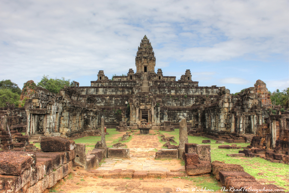 Temple of Bakong in Angkor, Cambodia
